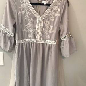 wren and Ivory Dresses - When and Ivory maternity friendly dress NWT